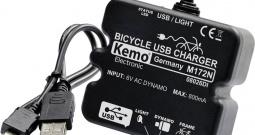 USB regulator punjenja za bicikl Kemo