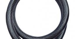 Kabelski lokot za bicikl SPS 100 Security Plus crna brojčana brava sa simbol...