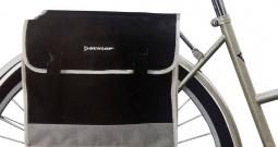 Torba za bicikl 41740 Dunlop siva, crna
