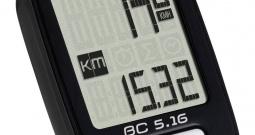 Računalo za bicikl BC 5.16 Sigma kabelski prijenos sa senzorom za kotače