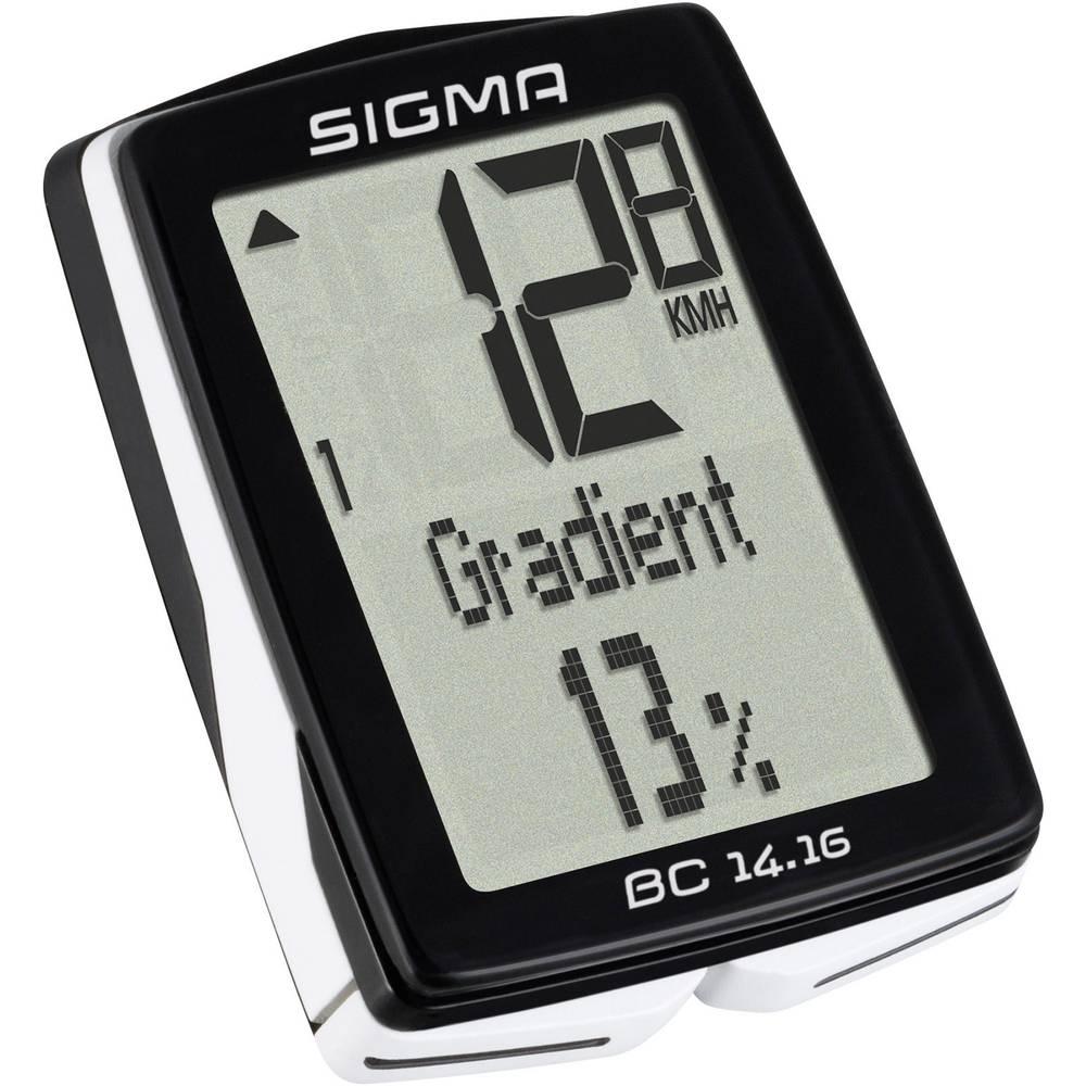 Računalo za bicikl BC 14.16 ALTI Sigma kabelski prijenos sa senzorom za kota...