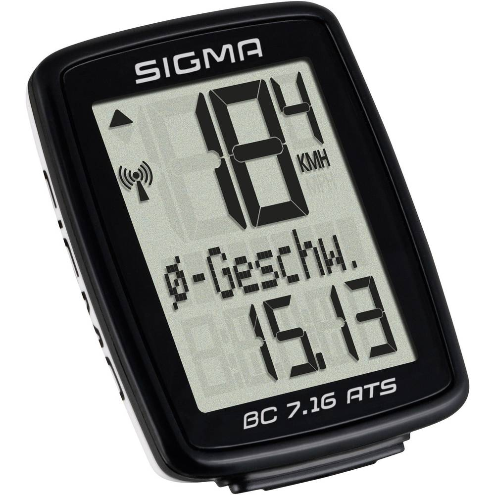 Bežično računalo za bicikl BC 7.16 ATS Sigma kodirani prijenos sa senzorom...