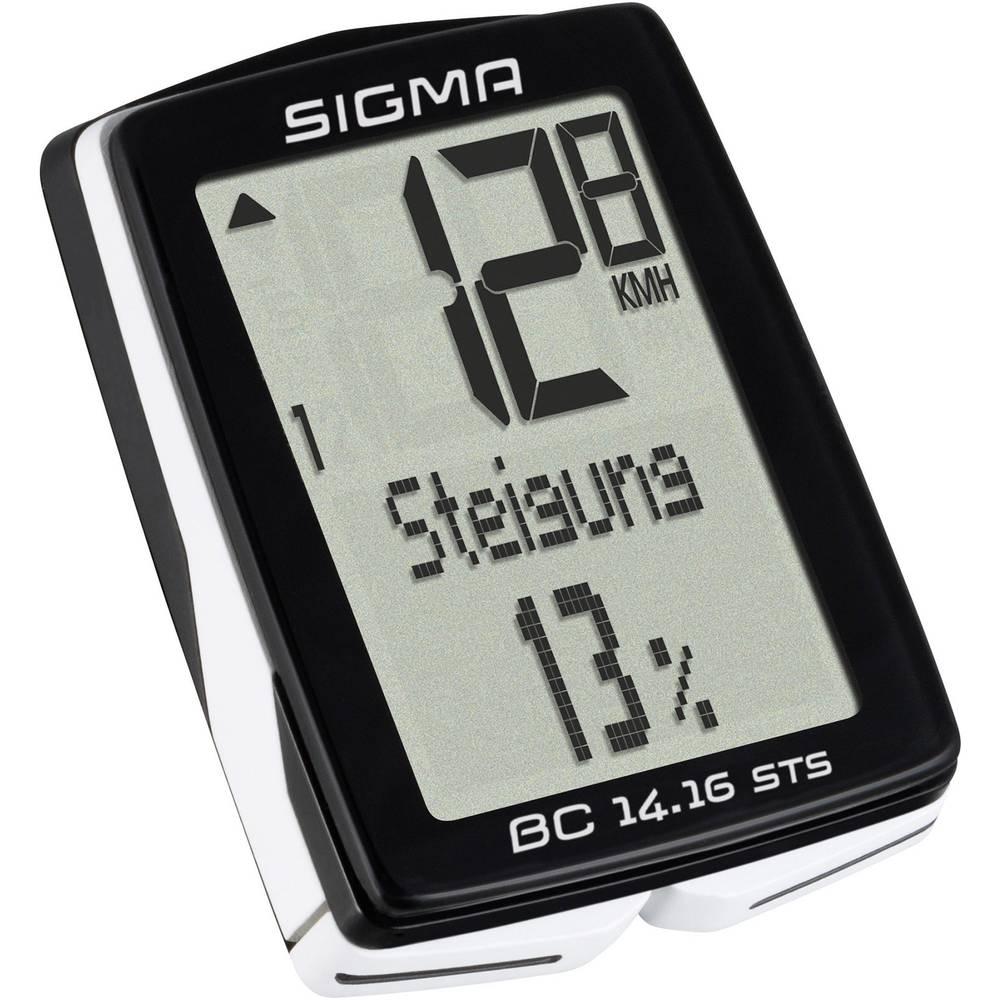 Bežično računalo za bicikl BC 14.16 ALTI STS Sigma kodirani prijenos sa se...