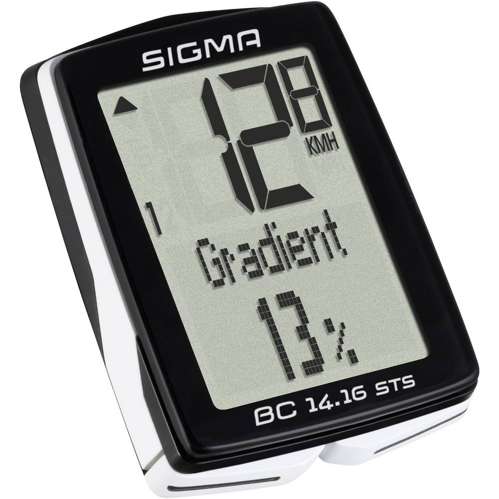 Bežično računalo za bicikl BC 14.16 ALTI STS CAD Sigma kodirani prijenos s...
