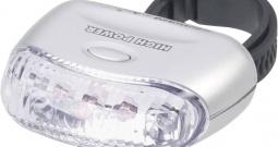 LED stražnje svjetlo, srebrno 0047 Security Plus