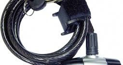 Lokot za bicikl, oprema za bicikl 0055 SK 55 Security Plus