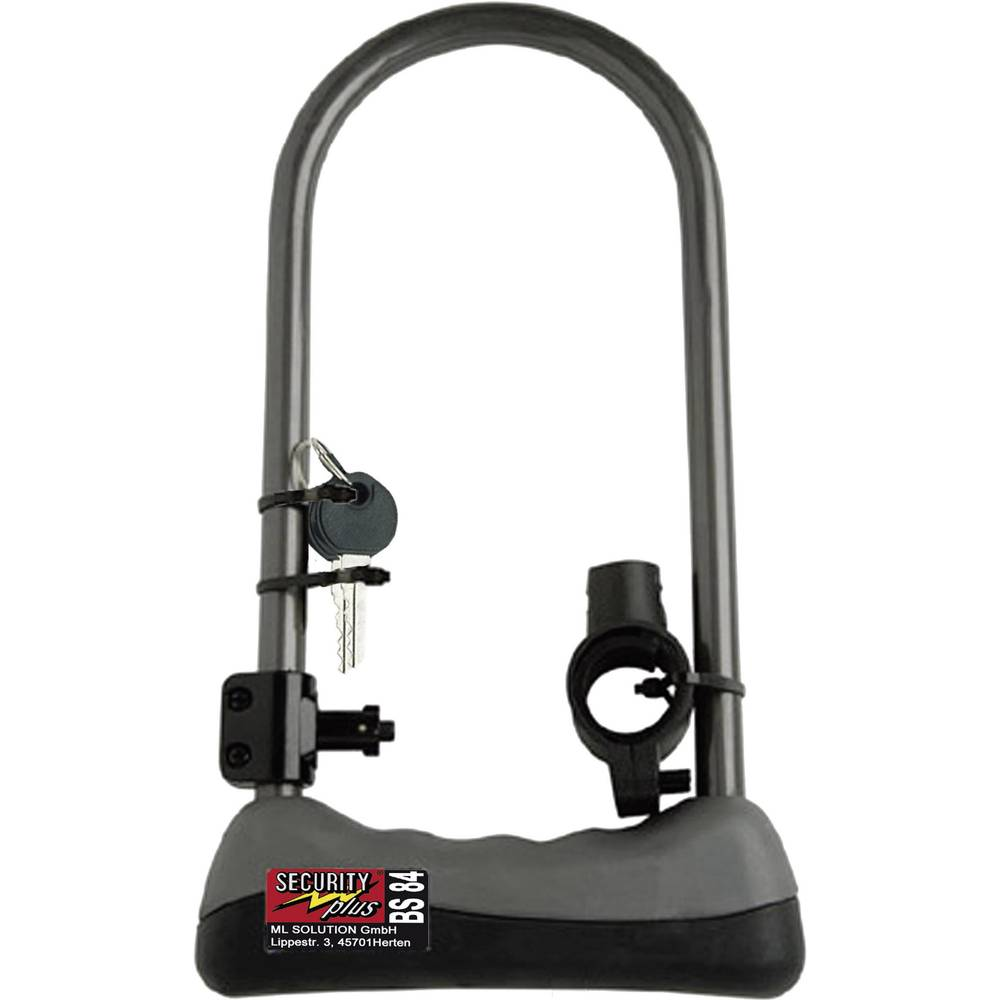 Dugi U-lokot za bicikl Security Plus BS 84 0084, oprema za bicikl