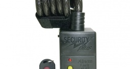 Lokot s alarmom i senzorom pokreta AL07 Security Plus crna lokot za bicikl