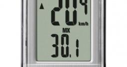 Brojač za bicikl Velo 7 CC-VL 520 003524056, oprema za bicikl