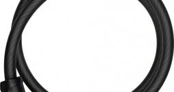 Kabelski lokot ABUS Crna Zaključavanje s brojčanikom