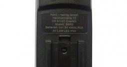 Stražnje svjetlo za bicikl Security Plus 190 455 01 LED baterijski pogon Crna