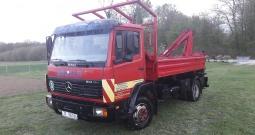 Mercedes-Benz 814 eco power, kiper s kranom