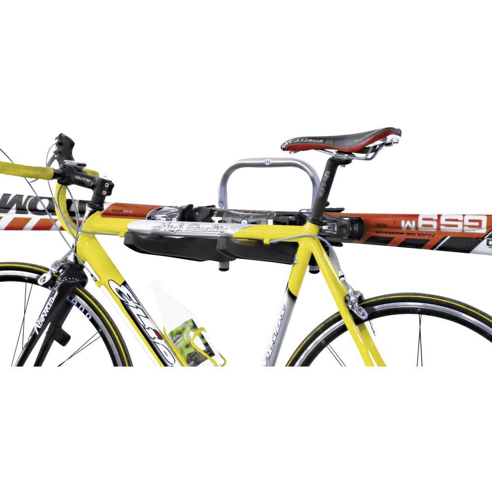 Zidni držač za bicikl Broj parkirnih mjesta=3 000371 Aluminijum, Plastika S...