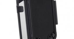 Držač za volan za pametni telefon Herbert Richter Box M Crna