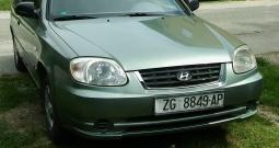 Hyundai Accent 1.3, plin atestiran 2003. g., reg. 11/19.