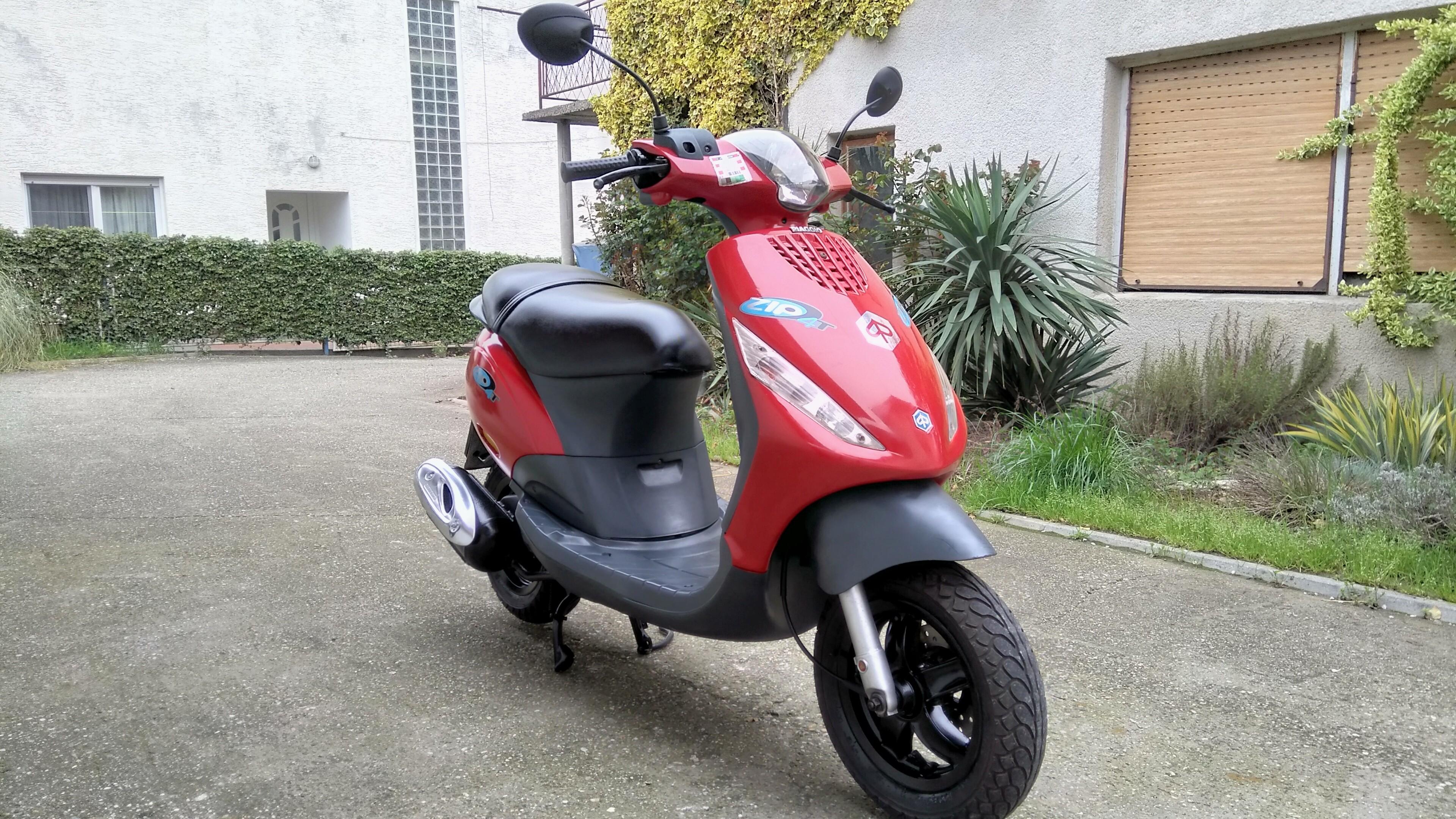 Piaggio Zipp 50-4T, mod. '09., reg. 4/20. g., novi
