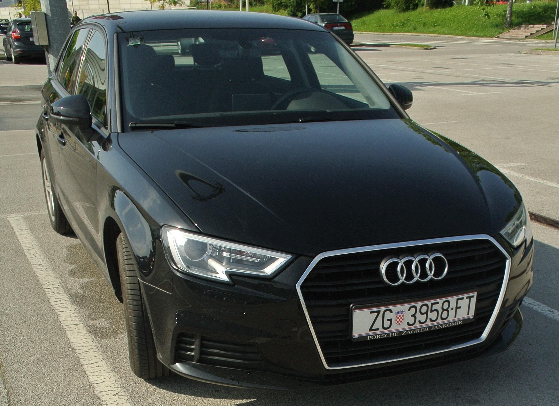 Audi A3 Sportback, 2018, 85 kW