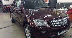 Mercedes-Benz ML 320 cdi, 4matic, automatik, 1. vlasnik, reg. 09/19.