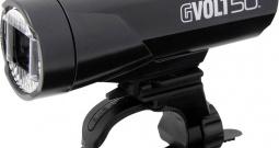 Prednje svjetlo za bicikl Cateye GVOLT50 HL-EL550G-RC LED (jednobojna) pogon ...