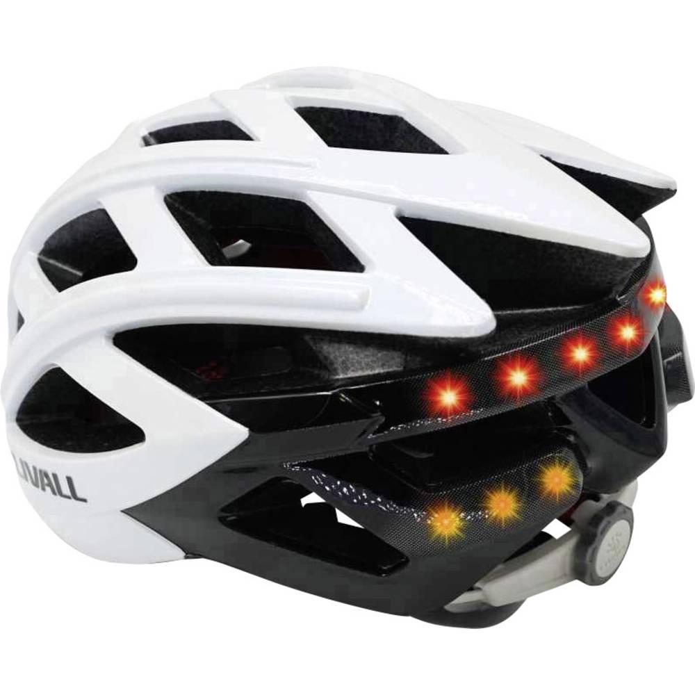 Cestovni bicikl kaciga Livall BH62 Bijela Veličina odjeće=L Opseg glave=58-...