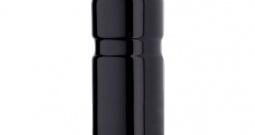 Boca za piće Aluminium mit Trinkventil-Schutzkappe Crna