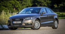 Audi A3 1,6TDI Limusina, reg. do 5/2020g. navi, Full oprema