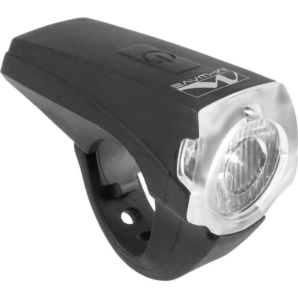 Prednje svjetlo za bicikl M-Wave APOLLON K 1.1 USB LED pogon na punjivu bater...
