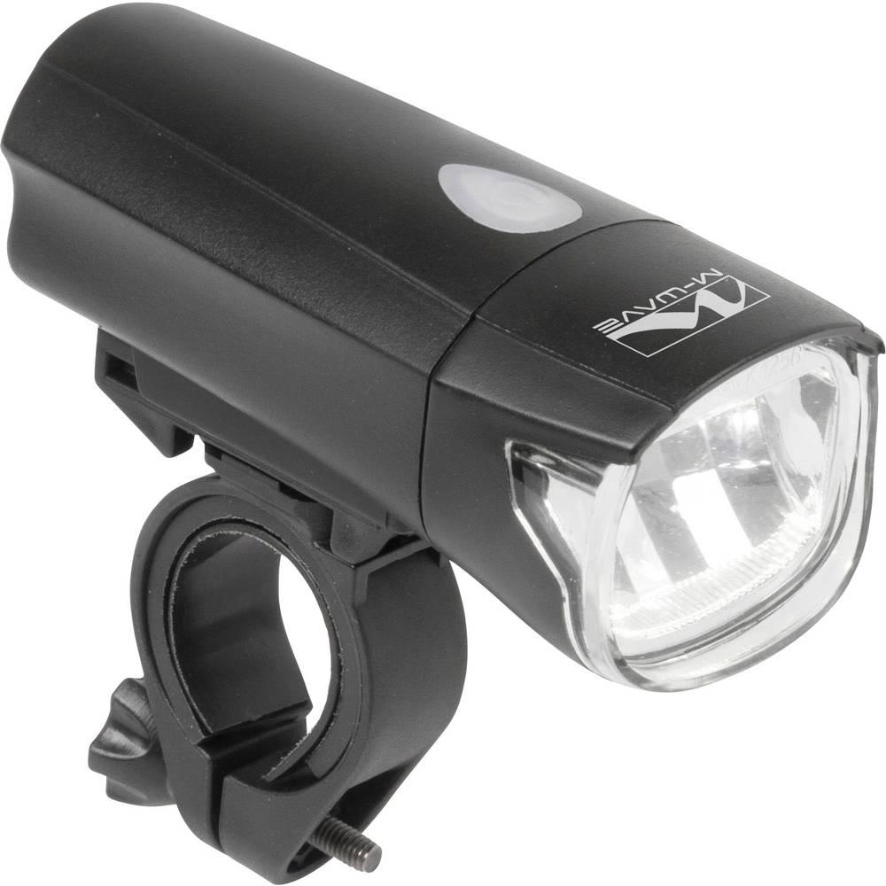 Prednje svjetlo za bicikl M-Wave APOLLON 1.3 1 Watt LED Crna