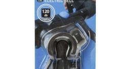 Zvono za bicikl M-Wave Elektrische Fahrradglocke Crna, Plava boja