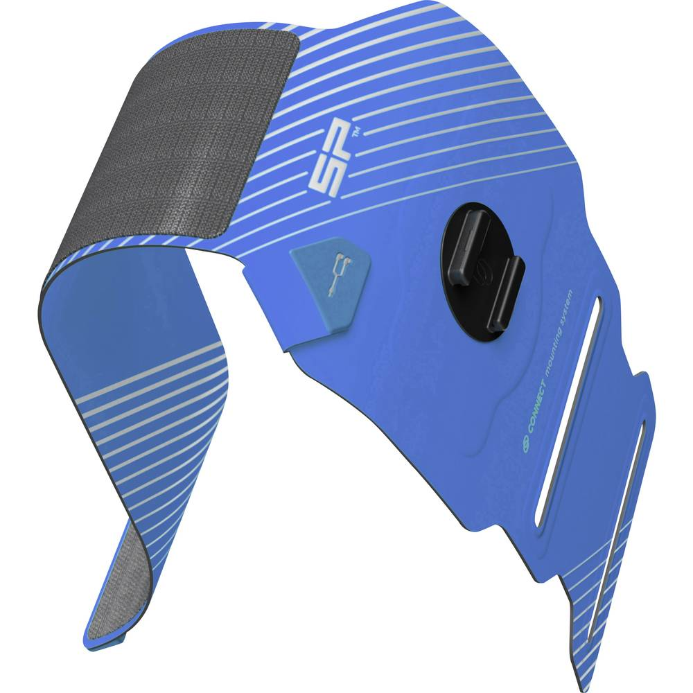 Držač za nadlakticu SP Connect SP RUNNING BAND BLUE Plava boja, Crna