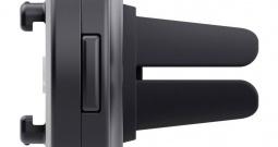 Držač za pametni telefon SP Connect SP VENT MOUNT Crna