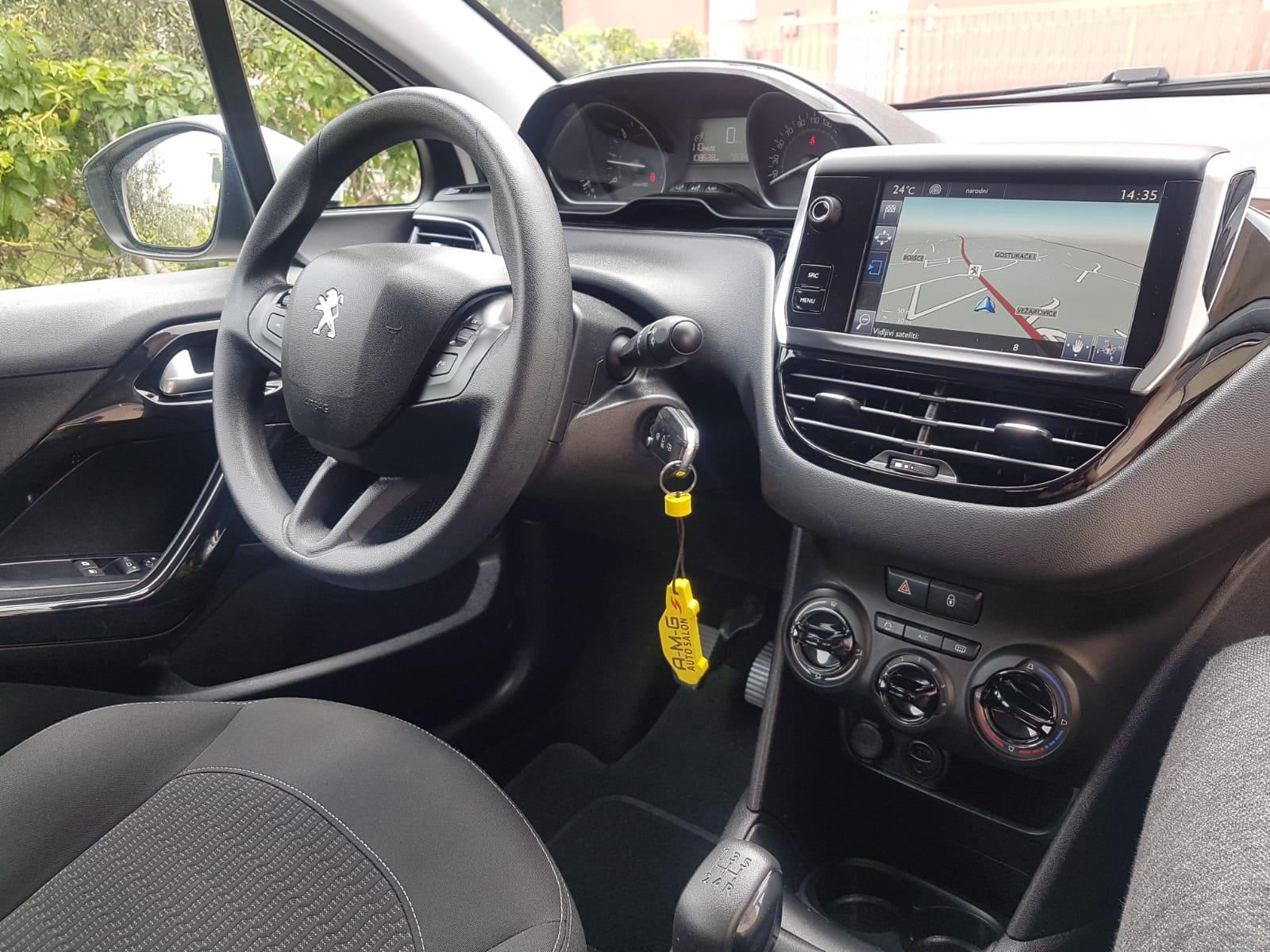Peugeot 208 1.6, BlueHDi, navigacija, Active-Facelift
