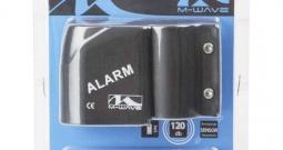 Alarmni uređaj M-Wave WATCH DOG Crna