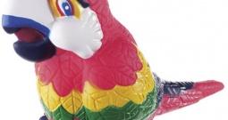 "Zvono za bicikl Tierhupe \\""Papagei\\"" Šarena boja"