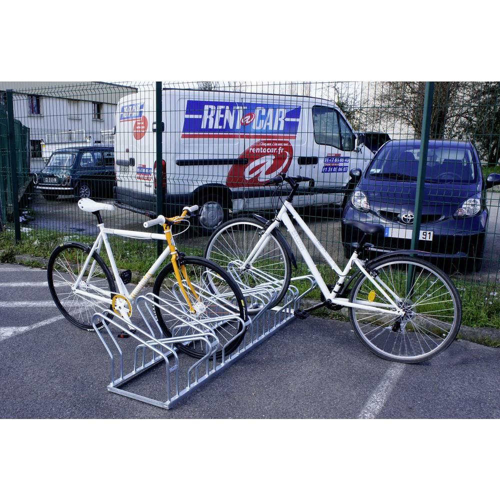 Stalak za bicikle Broj parkirnih mjesta=10 VISO VELO 52 Čelik Srebrna