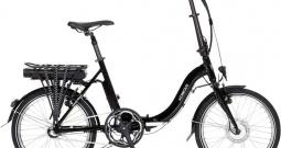 E-bicikl s papučicom za pogon SFM Saxonette Kobold Crna Li-Ion 36 V 8.8 Ah S...