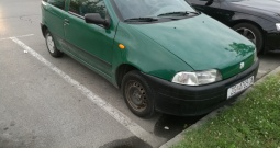 Fiat punto 98god 1.1benz reg 6mj2020god dugogodisnja vlasnica hitno prodajem