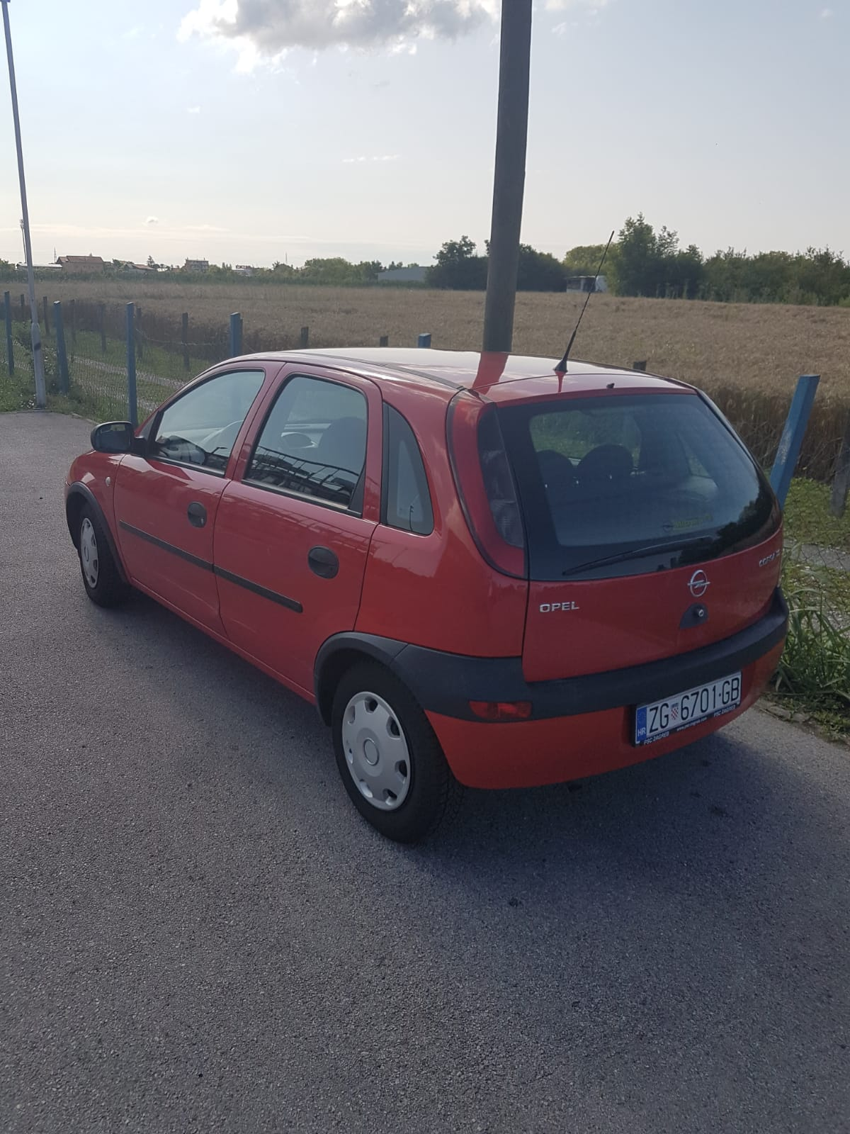 Opel Corsa 1.2 16v,2002.,171400km