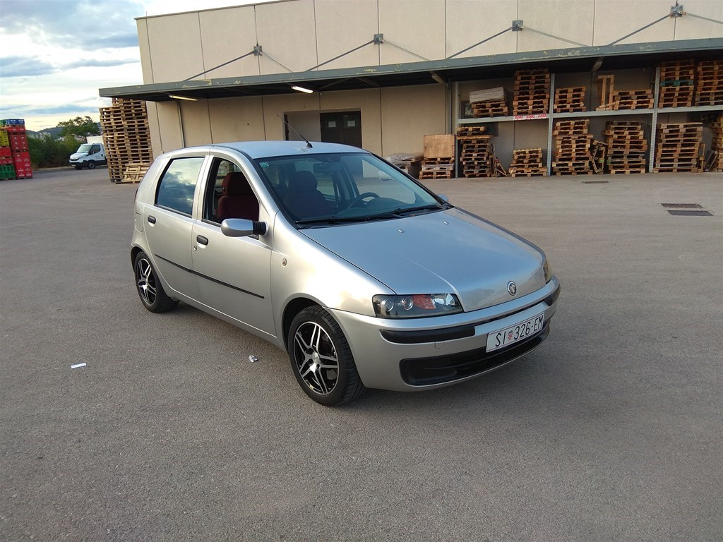 Fiat Punto 1.2 16V, elx, 80ks