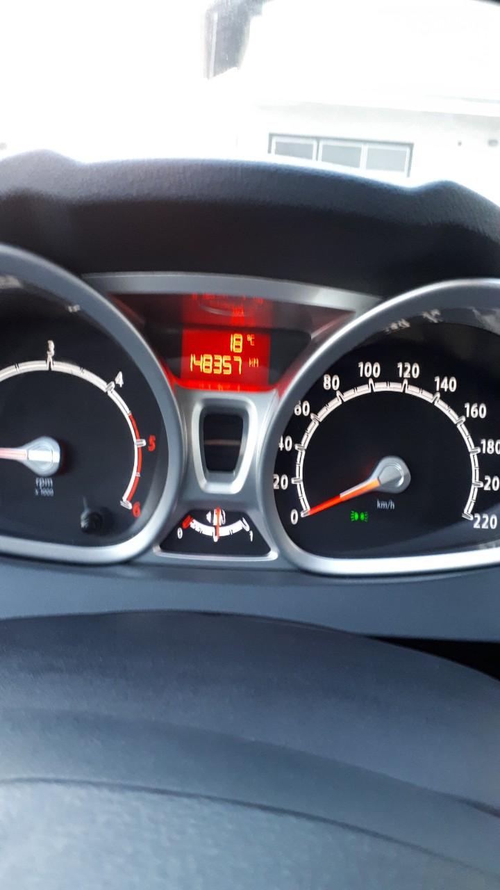 Ford Fiesta 1.6 titanium, registriran godinu dana