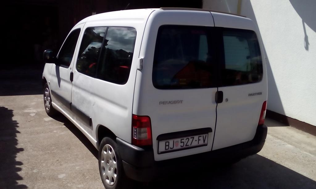 Partner putnički, 2008. g., reg. godinu dana, oprema, hitno