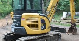 Komatsu PC40MR-2, 2007