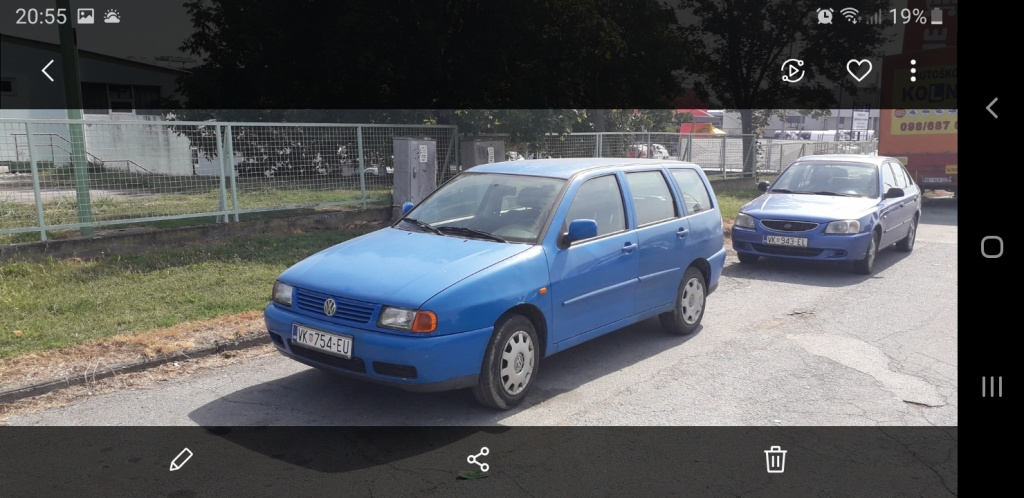 Vw polo variant