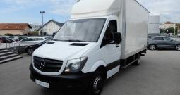 Mercedes Sprinter 514 CDI + Utovarna rampa