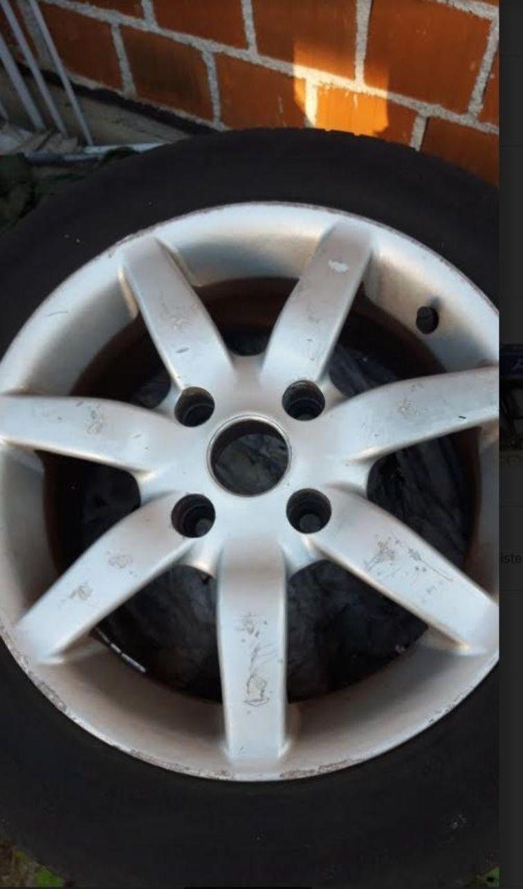Hyundai - Alu felge 15'' rupe 4x114.3, 4 kom.
