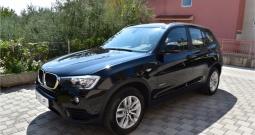 BMW X3 18d Alu17,Park.Senz.,Koža,Keyless,Profi.Navi.,Automatik