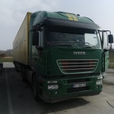 Iveco stralis i schubboden doll
