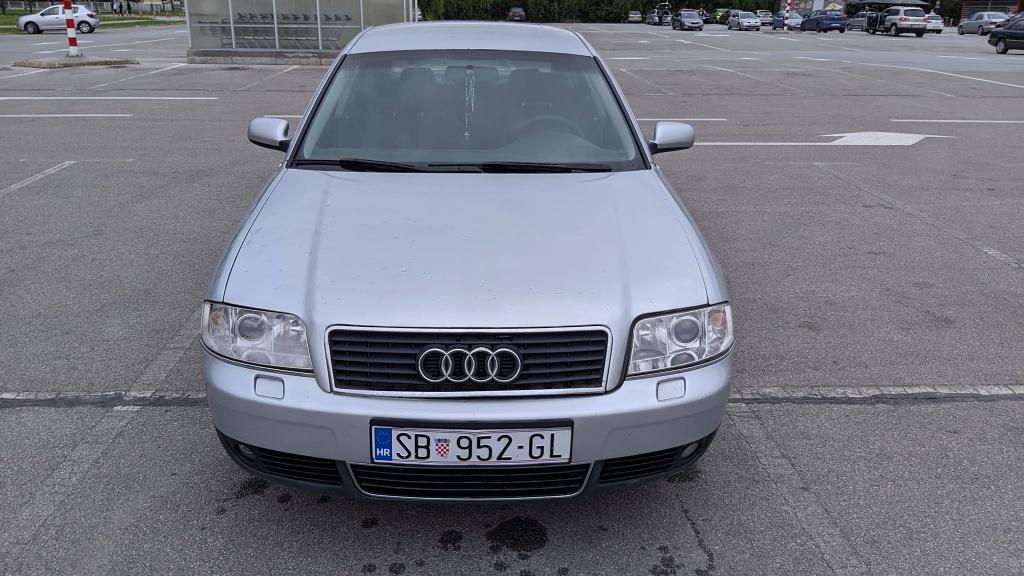 Audi A6 2,4 V6 + Plin
