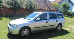 Opel Astra karavan 2.0, registriran