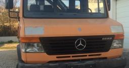 Mercedes 814 trostrani Kiper Kran Grajfer